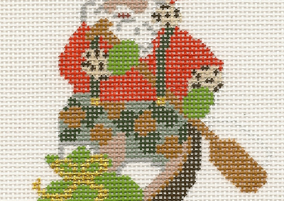 L66-Santa In Pirogue