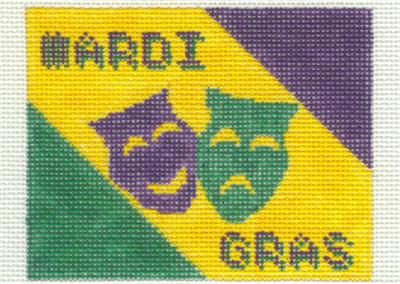 M3 - 2 Mardi Gras Masks