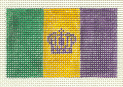 M4 - Mardi Gras Flag