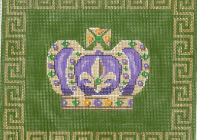M7c - Large Crown w/ border