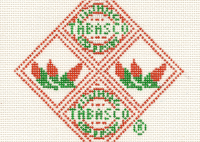 T19 - TABASCO® Diamond Ornament