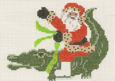 L87-Santa On Aligator